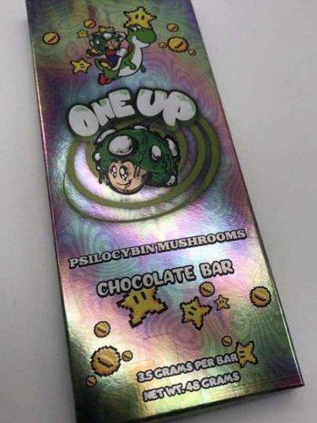 One Up – Psilocybin Mushroom Chocolate Bar 3.5g